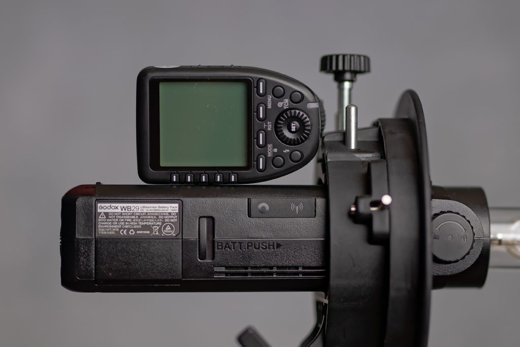 godox transmitter and AD200