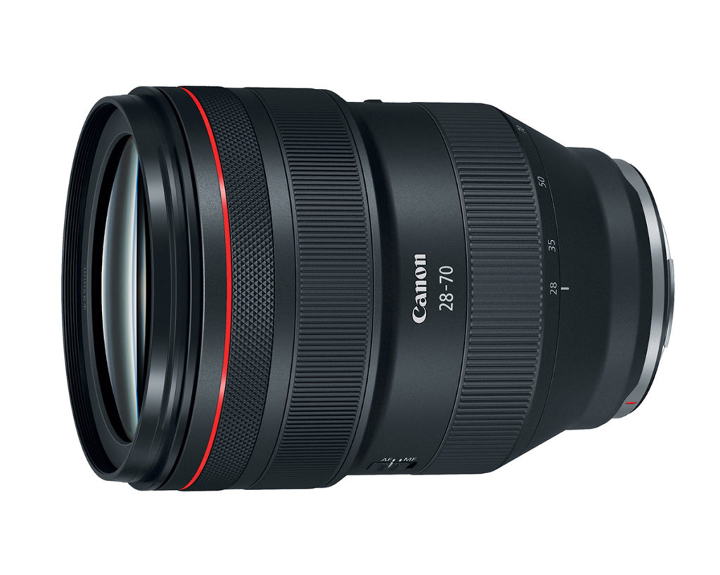 Side View of Canon RF 28-70mm L