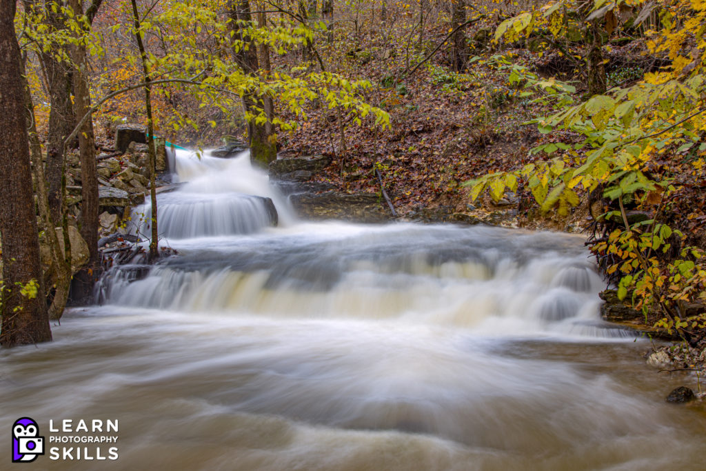 EOS R with RF 24-240mm photo of waterfall