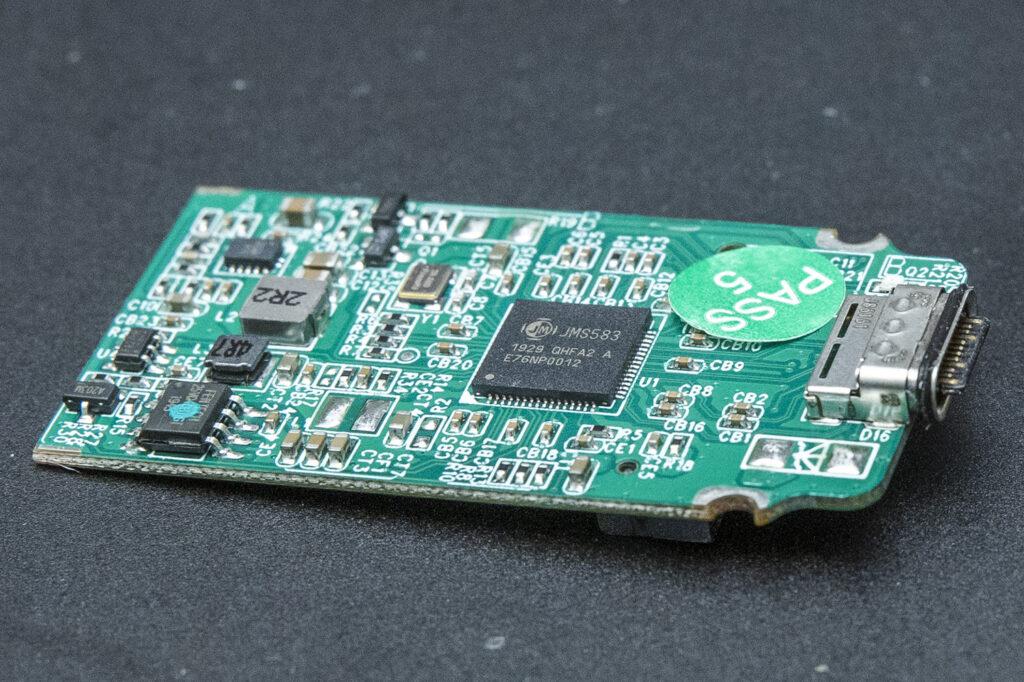 A USB enclosure circuit board